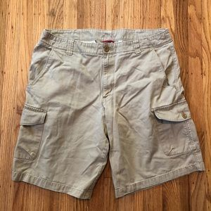 North Face Cargo Shorts Beige Utility